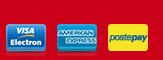 Pagamenti accettati American Express, PostePay